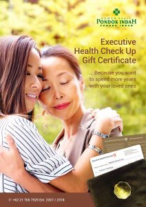 Executive Health Check Up Gift Certificate RS Pondok Indah