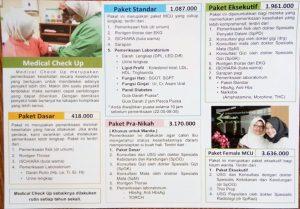 Paket Medical Check Up RSIA Budi Kemuliaan