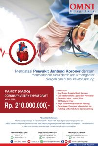 Paket Coronary Artery Bypass Graft (CABG) RS Omni