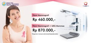 Paket Mammografi RS Royal Progress
