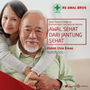 Paket Medical Check Up Jantung Usia Emas RS Awal Bros