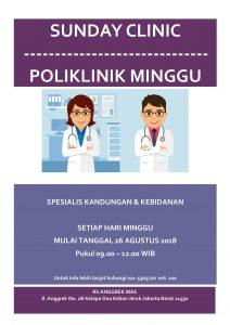 Sunday Clinic RSIA Anggrek Mas