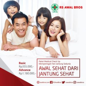 Paket Medical Check Up Jantung RS Awal Bros