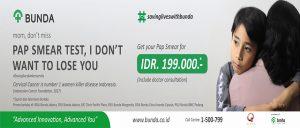 Promo Pap Smear Test RSIA Bunda Jakarta