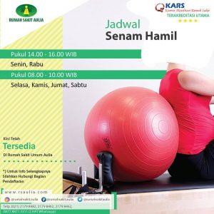 Jadwal Senam Hamil RS Aulia