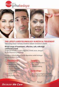 Laser Technology In Medical Treatment RS Graha Kedoya