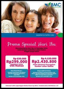 Promo Spesial Hari Ibu BMC Mayapada Hospital Bogor