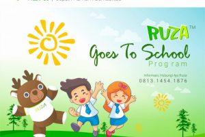 RUZA Goes To School, mau sekolahnya di kunjungi oleh RS AZRA?