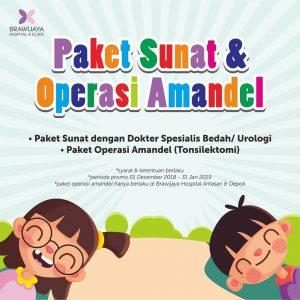 Paket Sunat & Operasi Amandel RS Brawijaya