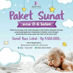 Paket Sunat Bayi RS Brawijaya