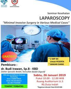 Seminar Laparascopy RS Duta Indah