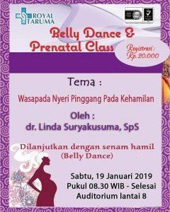 Prenatal Class & Belly Dance RS Royal Taruma