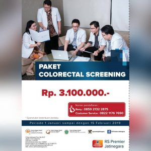 Paket Colorectal Screening RS Premier Jatinegara
