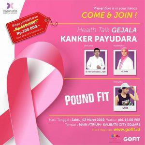 "Health Talk ""Gejala Kanker Payudara"