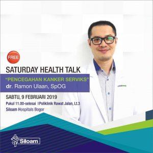 """Health Talk """"Pencegahan Kanker Serviks"""" RS Siloam Bogor"""