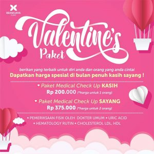 Valentine's Paket MCU Brawijaya Clinic