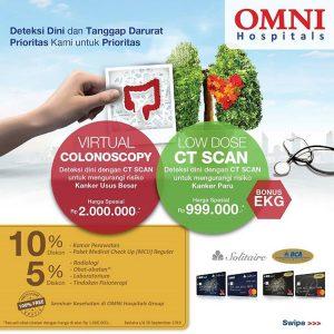 Promo Virtual Colonoscopy & Low Dose CT Scan