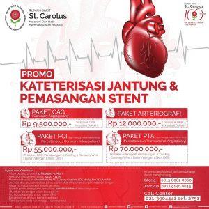"""Promo """"Kateterisasi Jantung & Pemasangan Stent"""""""