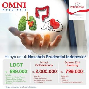 Promo LDCT, Virtual Colonoscopy & Deteksi Dini Jantung