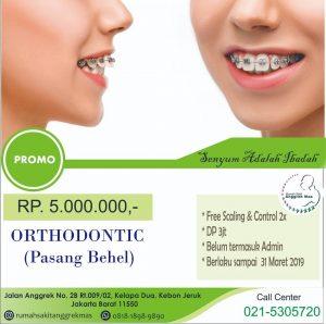Promo Orthodontic RS Anggrek Mas