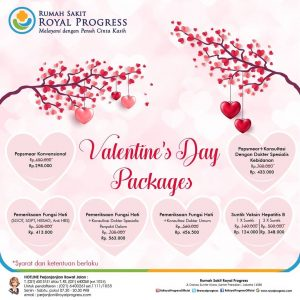 Valentine's Day Packages RS Royal Progress