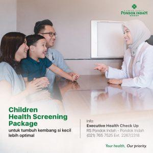 Children Health Screening Package