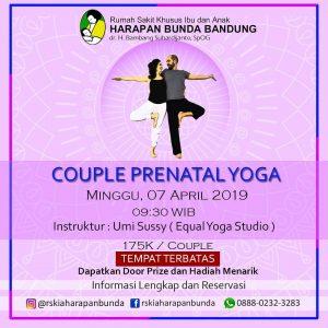 Couple Prenatal Yoga RSKIA Harapan Bunda