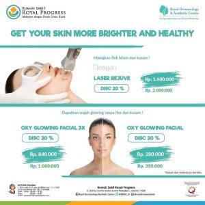 Promo Laser Rejuve & Oxy Glowing Facial
