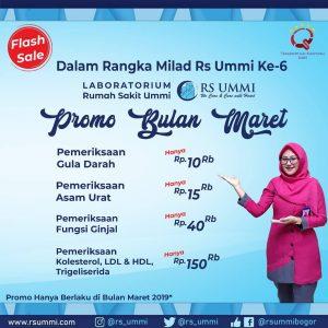 Promo Bulan Maret RS Ummi Bogor