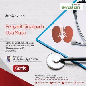 """Seminar Awam """"Penyakit Ginjal Pada Usia Muda"""""""