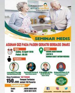 """Seminar Medis """" Asuhan Gizi pada Pasien Geriatri Berbasis Snars"""""""