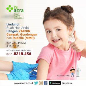 Vaksin MMR RS Azra