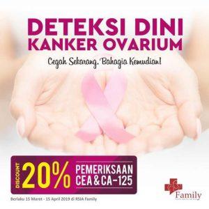 Promo Diskon 20% Pemeriksaan CEA & CA-125