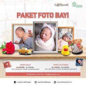 Paket Foto Bayi Dengan Harga Menarik Saat Melahirkan di RSPIK