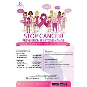 Promo Papsmear dan Vaksin HPV Brawijaya Hospital