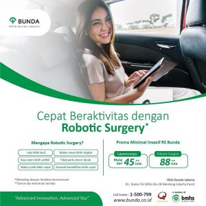Promo Minimal Invasif RS Bunda Laparoscopy & Robotic Surgery