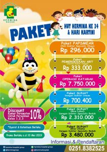Paket Promo Hut Hermina Ke 34 & Hari Kartini