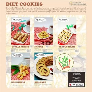 Diet Cookies RS Santo Borromeus