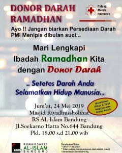 Donor Darah Ramadhan RS Al Islam Bandung
