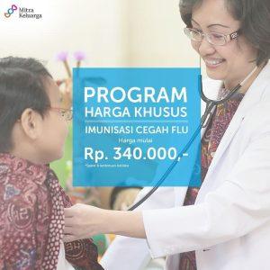 Program Harga Khusus Imunisasi Flu