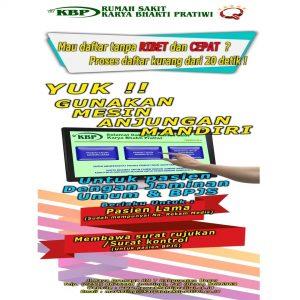 Mesin Anjungan Mandiri RS Karya Bhakti Pratiwi Bogor