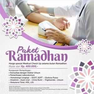 Paket Ramadhan Brawijaya Hospital Duren Tiga