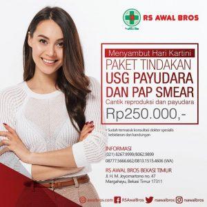 Paket Tindakan USG Payudara & Pap Smear