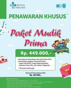 Paket Mudik Prima RS Royal Taruma