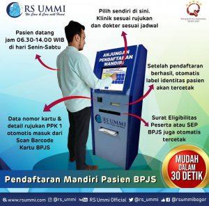 PENDAFTARAN MANDIRI PASIEN BPJS RS Ummi Bogor