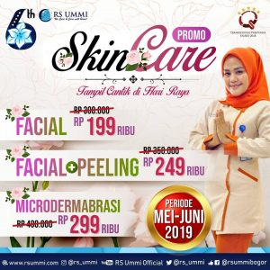 Promo Skin Care RS Ummi