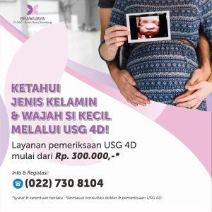Layanan Pemeriksaan USG 4D Brawijaya Clinic Bandung