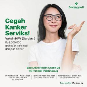 Paket Vaksinasi HPV Dengan Gardasil