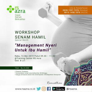 Workshop Senam Hamil RS Azra