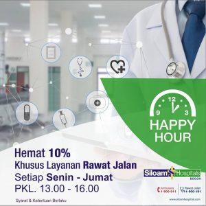 Promo Happy Hour Layanan Rawat Jalan RS Siloam Bogor